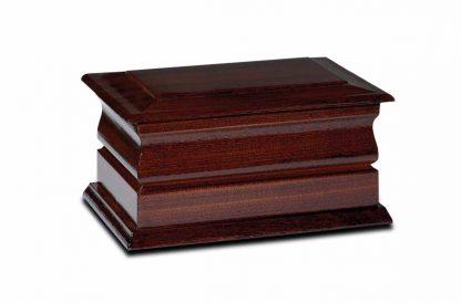 dark mahogany exete rashes casket